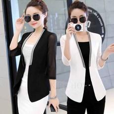 0bba31d7e66 kirahosi BAOGE YZ 여성 a 여름 쉬폰 양복 정장 자켓 수트 41435899689