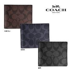 2e0996b7003 COACH 코치 남자 콤팩트 시그니처 반지갑 선물 추천