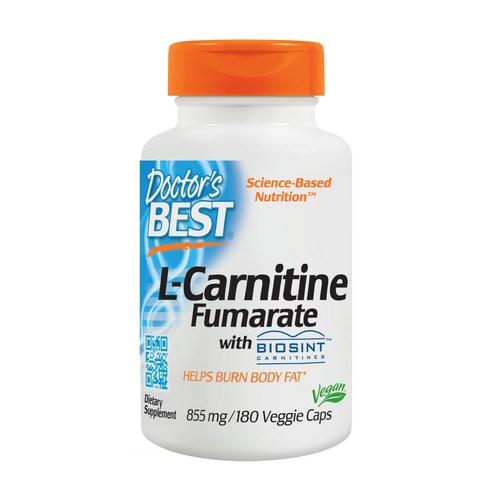 Doctor's Best L-카르니틴 855 mg 베지 캡